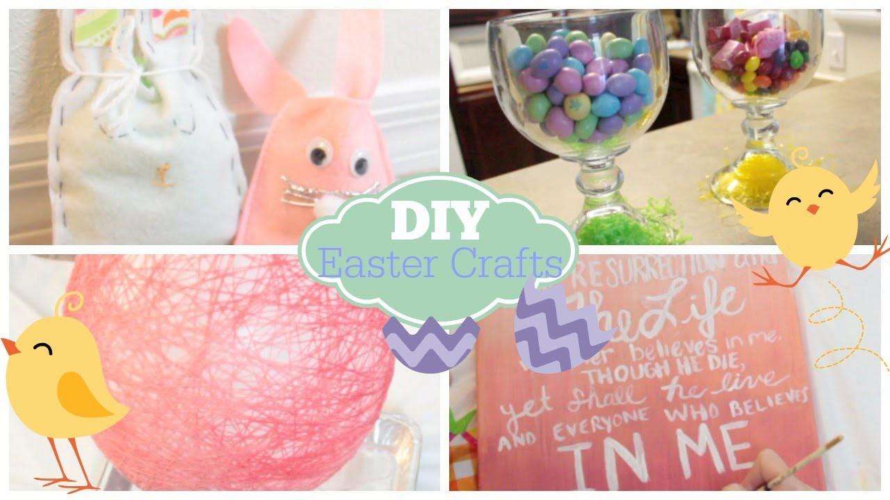 DIY Easter Crafts & Decor | Courtney Lundquist