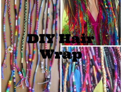 DIY Hair Wrap Tutorial!!