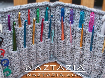 DIY Learn How to Crochet Hook Case Holder Folder Wallet - Storage for Hooks