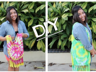 DIY -NO SEW- Turn Your Old T-shirts into Reusable Bags!