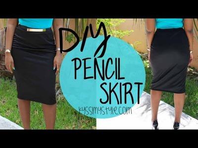 DIY | Pencil Skirt Tutorial | Start to Finish