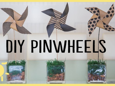 DIY | Pinwheel Crafts (Cute & Easy!!)