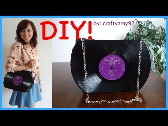 DIY Record Purse Tutorial!