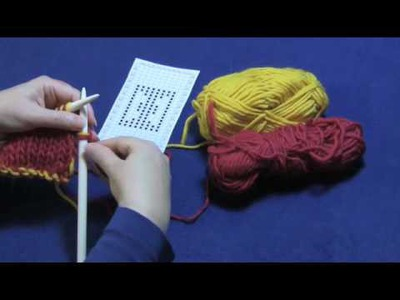 Double-Knitting, Part 2 of 3 -- Working a Charted Design