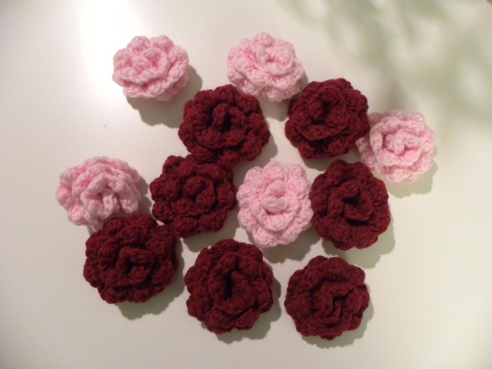 Easy Crochet Rose Tutorial