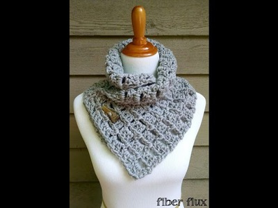 Episode 110: How To Crochet The Margaret Button Cowl