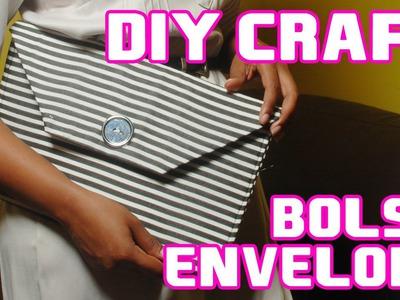 Faça você mesmo l Diy Craft - Bolsa envelope (clutch envelope)