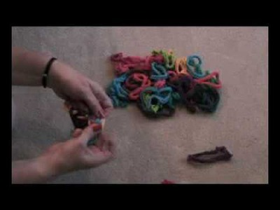 Finger Knitting with Loops