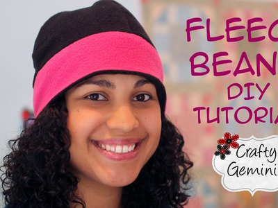 Fleece Beanie Hat- DIY Tutorial
