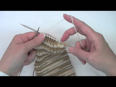 Heel Flap & Gusset - Tutorial - Knitting Blooms