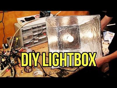HOW TO: $20 DIY Lightbox Tutorial