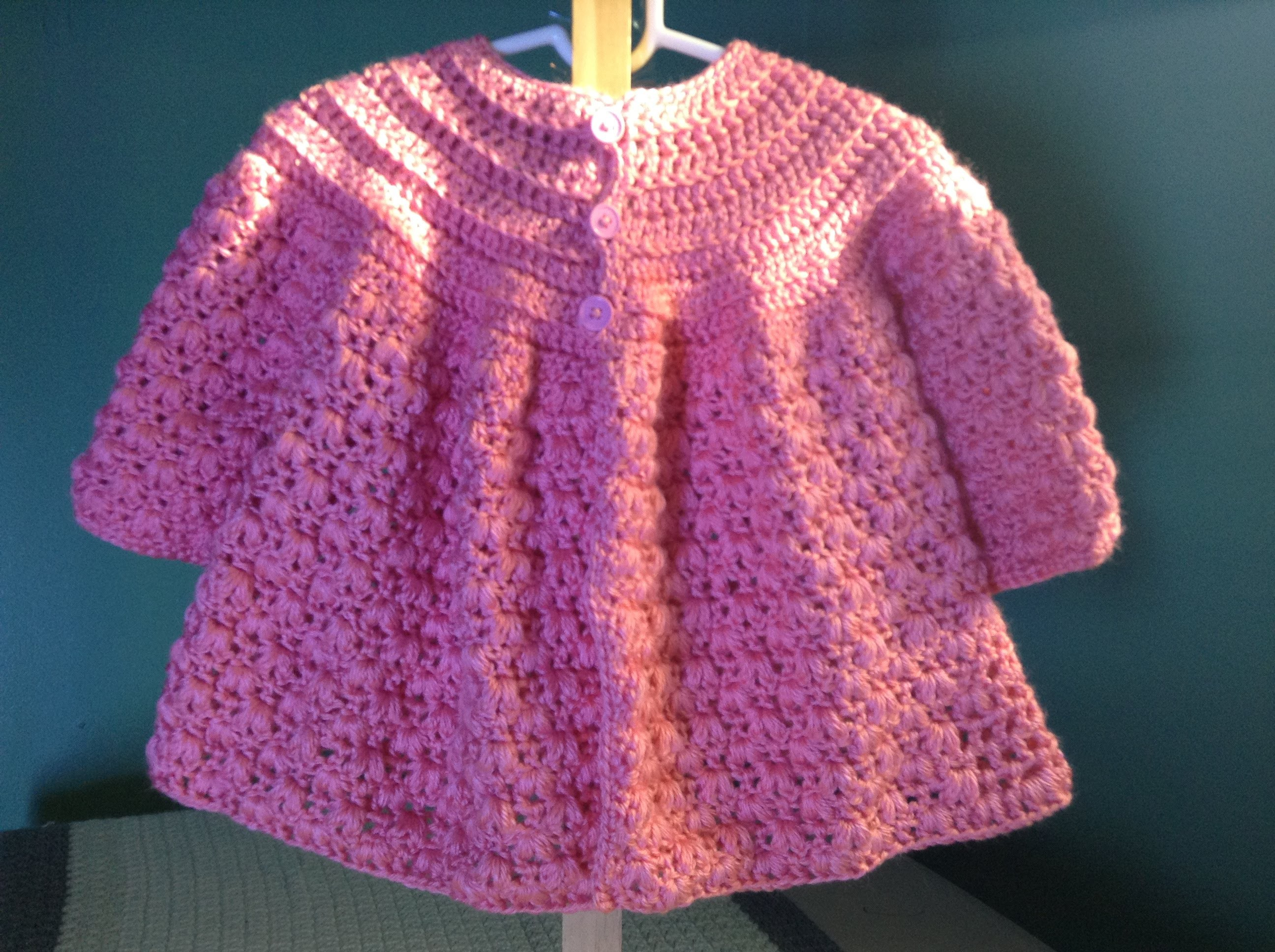 How to Crochet a Baby Sweater