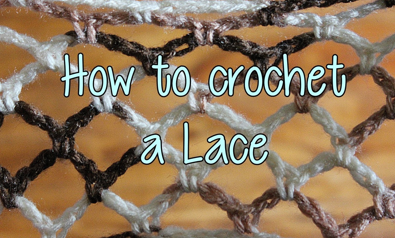 How to crochet a Basic Lace - Crochet Lessons