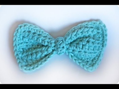 "How to crochet a ""Bowtie!""  (For experienced crocheters.)"