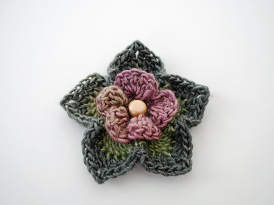 How to Crochet a Flower: Free Crochet Pattern