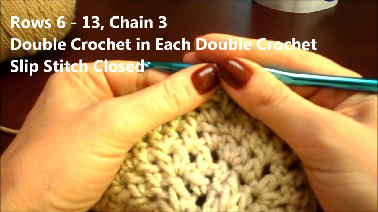 How to Crochet a Hat
