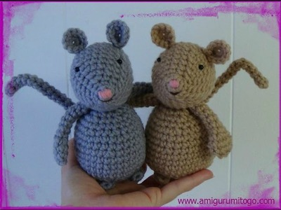 How To Crochet A Mouse