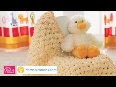 How to Crochet Puffy Baby Blanket