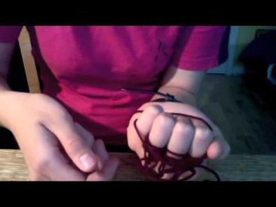 How to Finger Knit (Finger Knitting Tutorial)