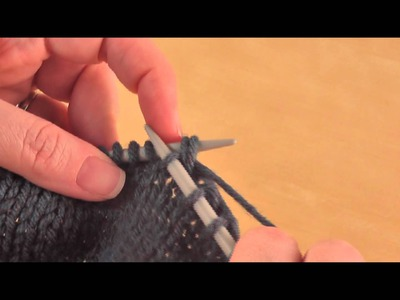 How To: Knit 2 Together (k2tog)