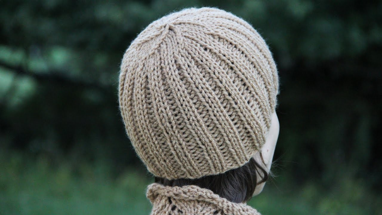 How to knit a ribbed hat. Video tutorial with detailed instruction.
