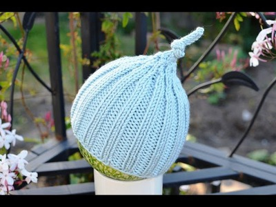 How to Knit a Simple and Easy Fit Baby Hat
