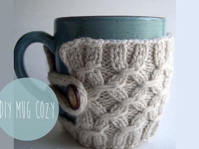 How to knit a Smocked Mug