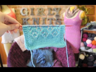 How to Knit Daisy Lace