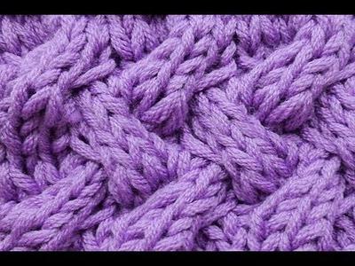 How-to Knit * Fake Entrelac * Braid Stitch * Cable Stitch * Knitting Stitch