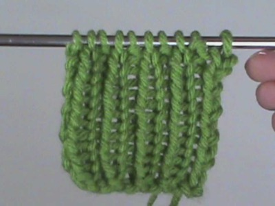How to Knit: Knit 1, Purl 1 Ribbing