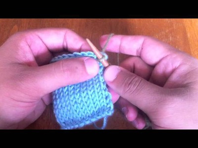 How to Knit: Pick Up and Knit Stitches
