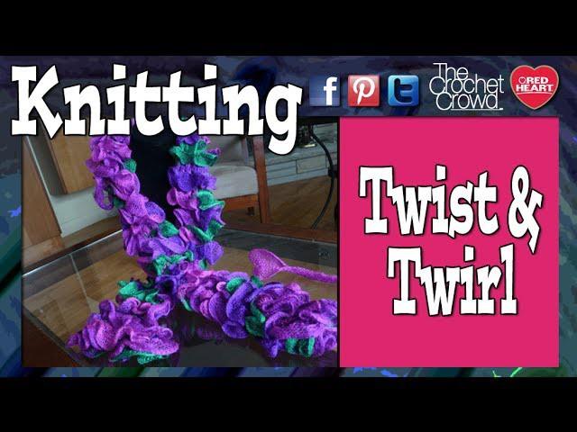 How To Knit Twist & Twirl Yarn By Bernat