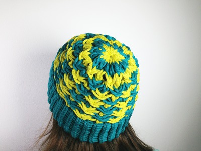How to Loom Knit a Star Stitch Hat (DIY Tutorial)