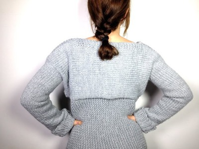How to Loom Knit a Sweater. Pullover. Jersey (DIY Tutorial)