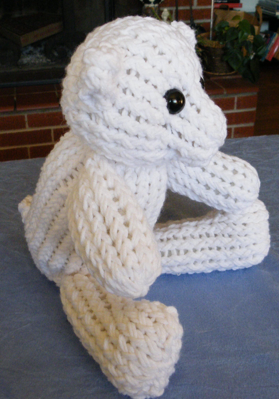 How to Loom Knit A Teddy Bear