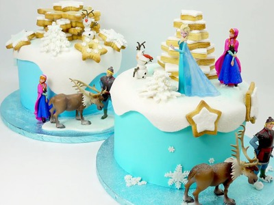 How To Make A Frozen Cake By Cake Craft World