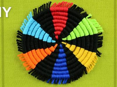 How to Make a Round Coasters. DIY Tutorial