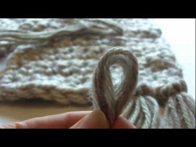 How to Make and Add Fringe to a Scarf or Crochet Project
