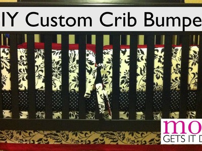 How to Make Crib Bumpers (DIY simple instructions)