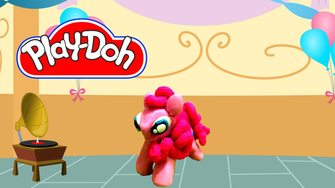 How to make Play Doh Pinkie Pie My Little Pony