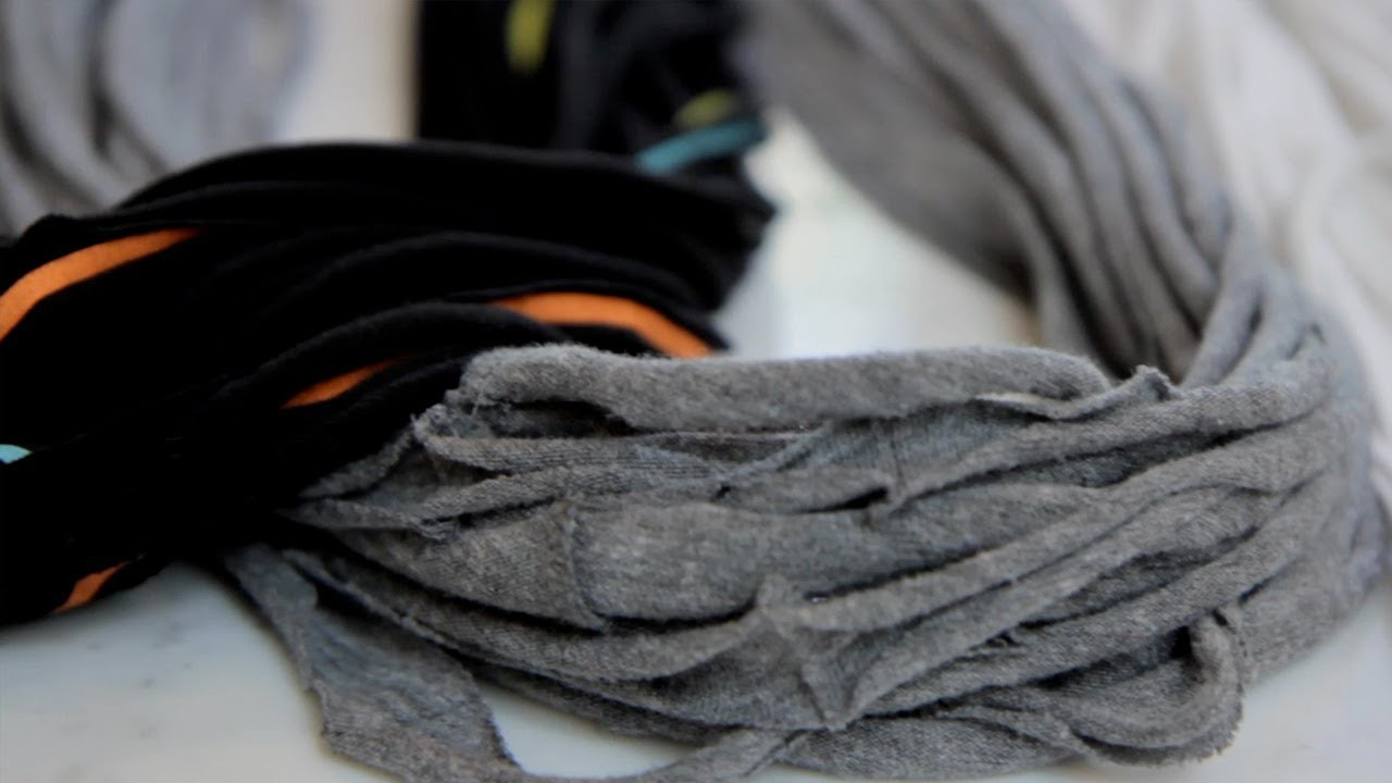 How to Make Tshirt Scarves - Let's Craft with ModernMom