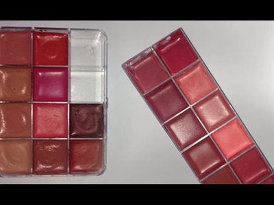 HOW TO MELT AND MAKE THE PERFECT LIPSTICK PALETTE (DIY) TUTORIAL