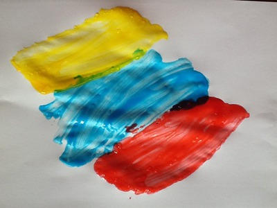 Kid's Craft - How to make child safe paint
