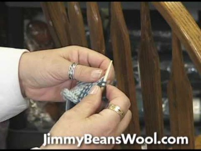 Knitting Instructional Video - How to Pick Up Stitches On the Edge