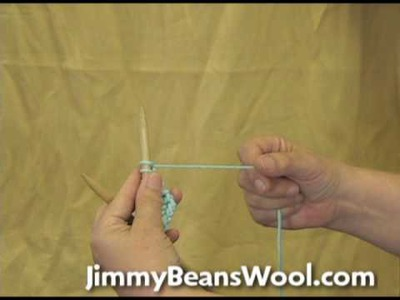 Knitting Instructional Video - Cast On in the Middle of your Work