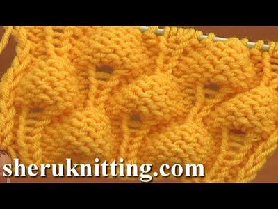 Knitting Strawberry Stitch Pattern Tutorial 13 Knit Stitch Pattern Library