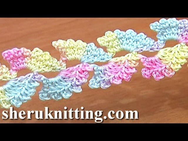 Lace Cord Free Crochet Tutorial 6