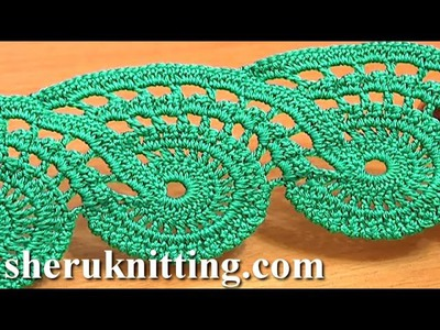 Lace Crochet Free Pattern Tutorial 9 Part 2 of 2 Crochet Lace Tape