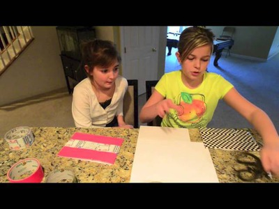 Live, Laugh, Craft! - How to make a Duct Tape Pencil Pouch