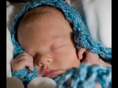 Loom Knit - Baby Cocoon loom along